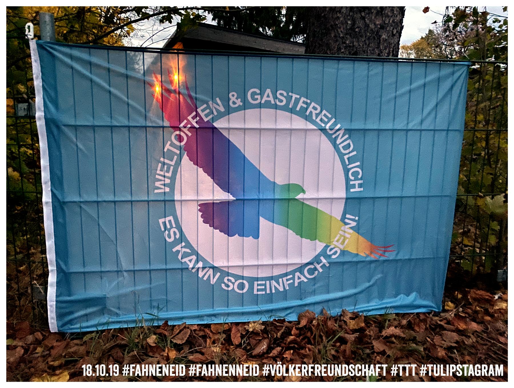 18.10.19 #Fahneneid #Fahnenneid #Völkerfreundschaft #TTT #Tulipstagram