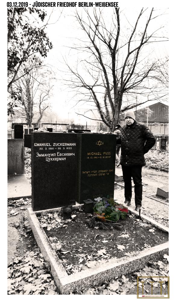 02.12.19 Jüdischer Friedhof Weißensee, Herbert-Baum-Straße #Besuch #TTT #Tulipstagram