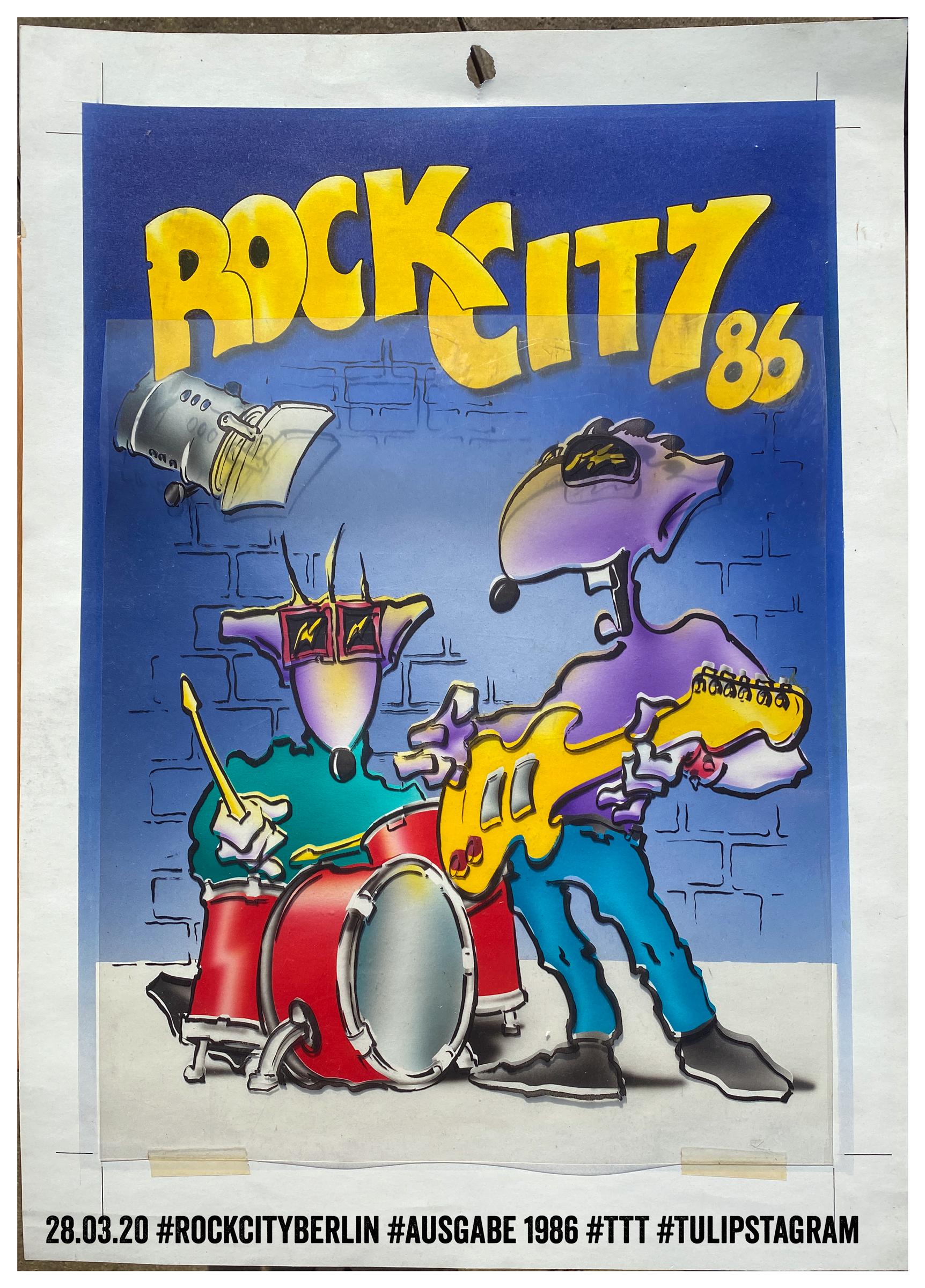 28.03.20 #RockCityBerlin #Ausgabe 1986 #TTT #Tulipstagram