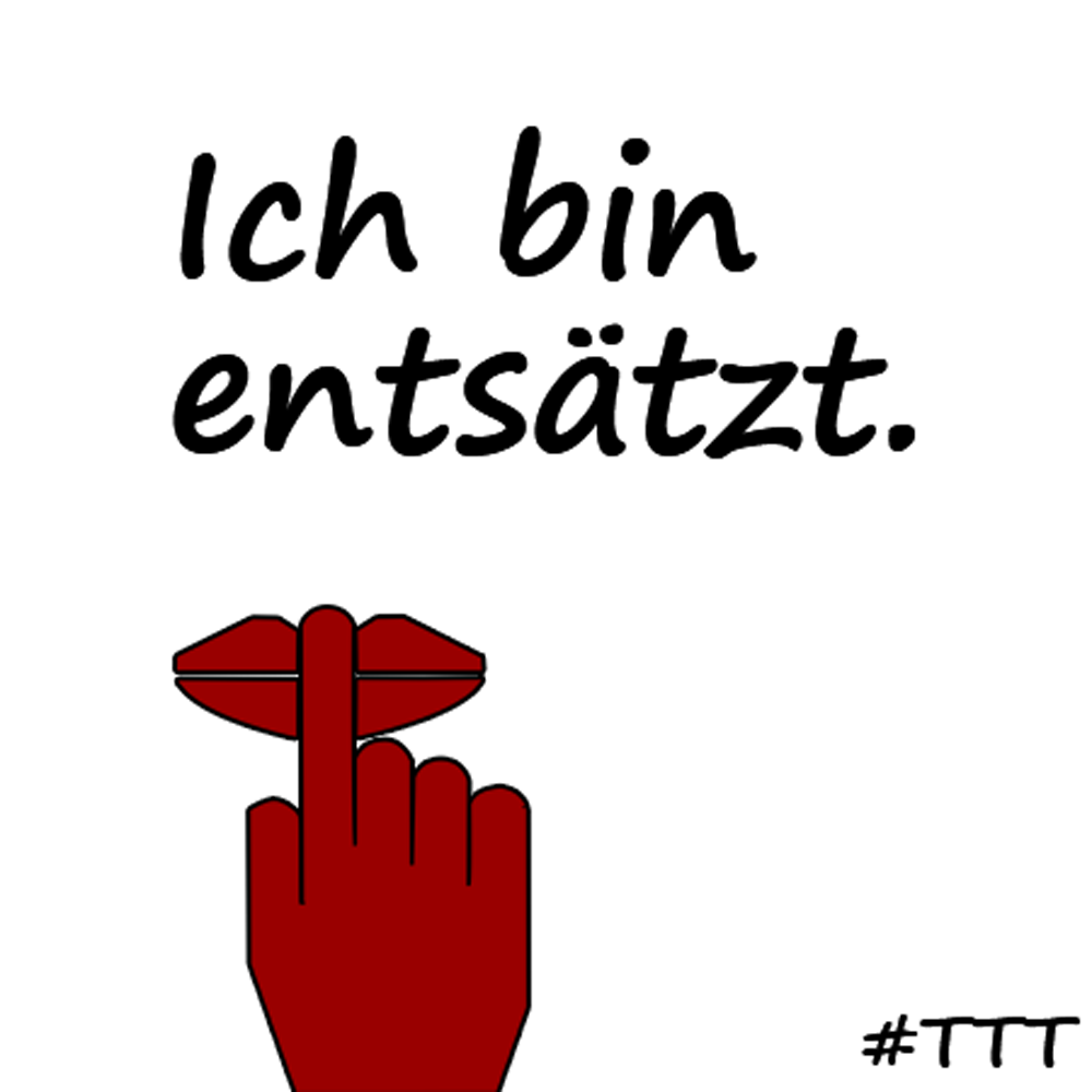 Ich bin entsätzt. #TTT #Tulipstagram