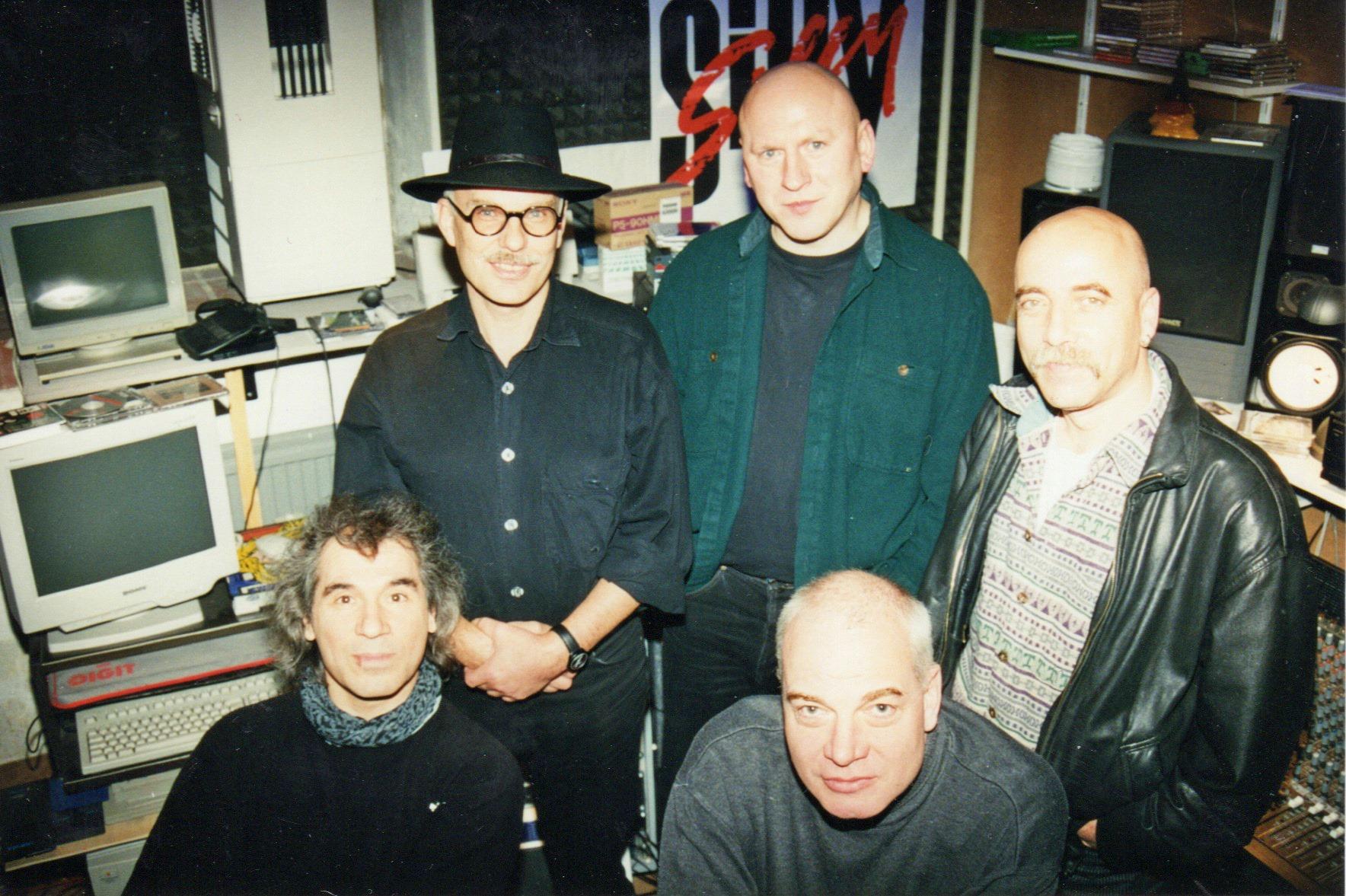 CITY im SILLY Studio, 1997 – hier: Französische Straße. (Foto: Uwe Hassbecker, Privatarchiv)