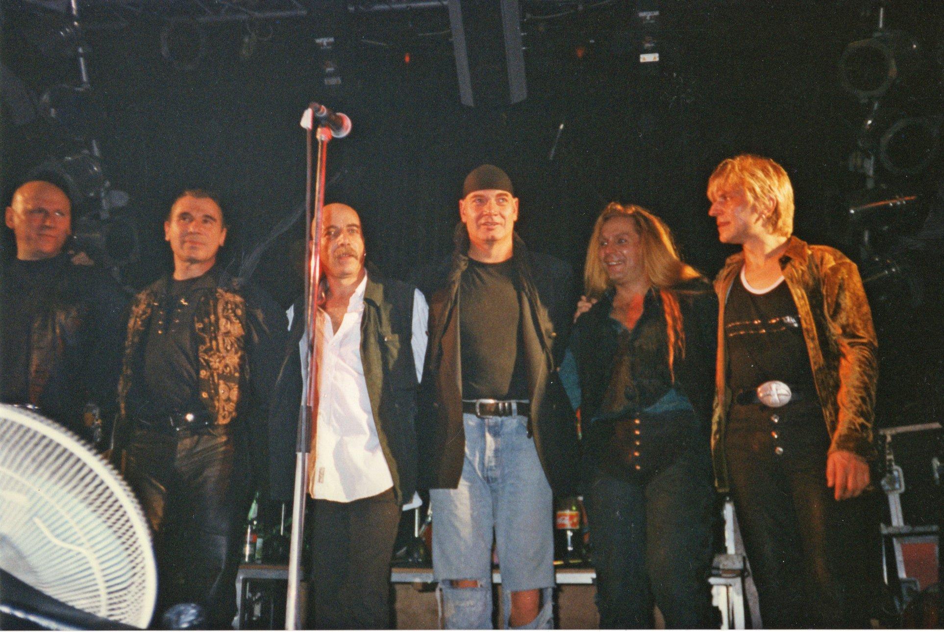 Tour d'Amour - Das Beste von CITY & SILLY, 22.11.97 im Capitol Halle (Foto: Uwe Hassbecker, Privatarchiv, mit Dank)