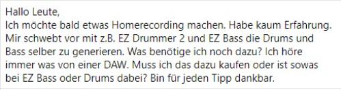 10.01.21 #Gitarristengruppe #Facebook #DAW
