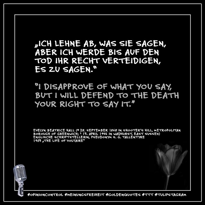 10.01.21 #Meinungsfreiheit #Opinioncontrol