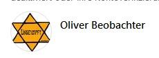 "01.04.21 ""Oliver Beobachter"" #Judenstern #Ungeimpft"